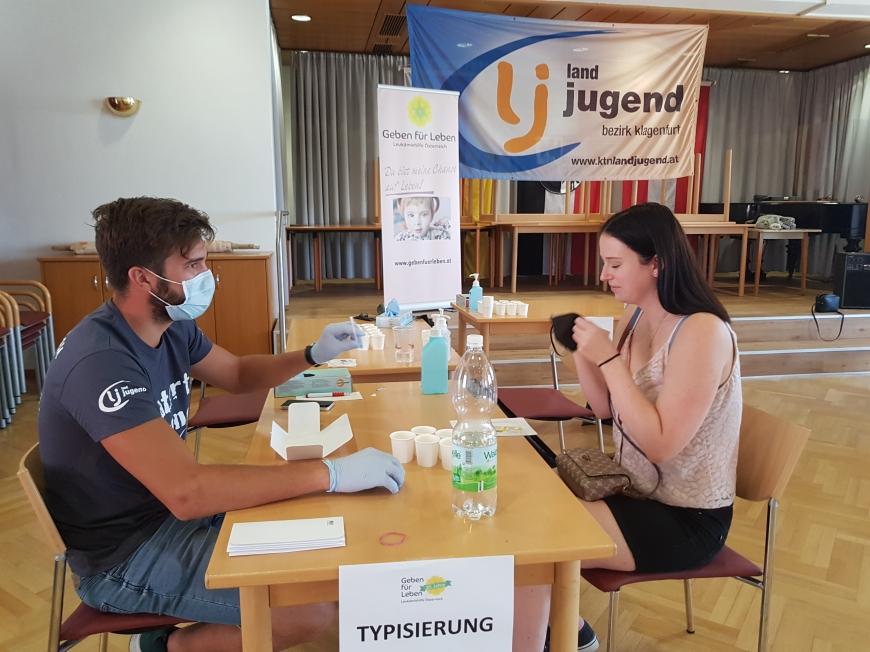 'Klagenfurter Landjugend organisiert vier Typisierungsaktionen'-Bild-5