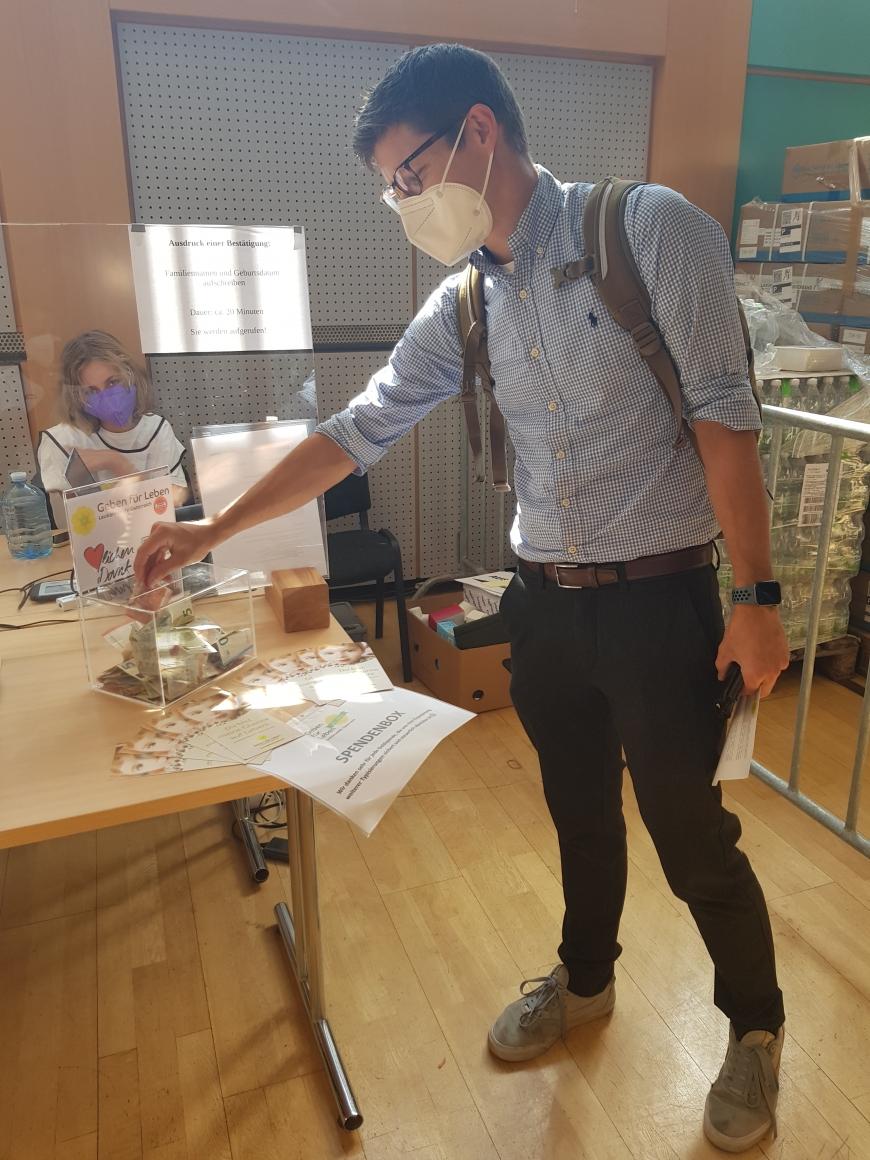 'Engagement für Leukämiekranke nach erhaltener Stammzellspende'-Bild-7