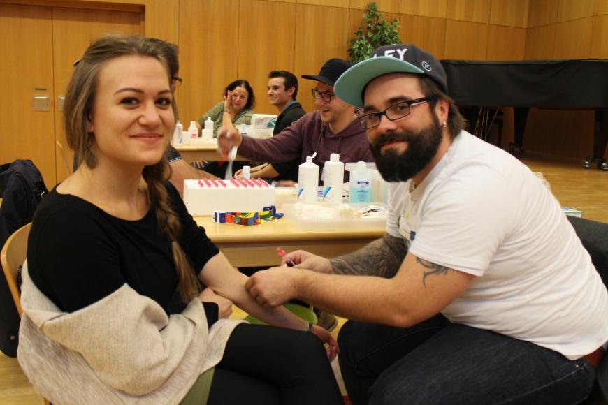 'Durch großartige Spendenaktion in Bludenz für Lukas 433 Menschen typisiert und über € 17.000 an Spenden'-Bild-3