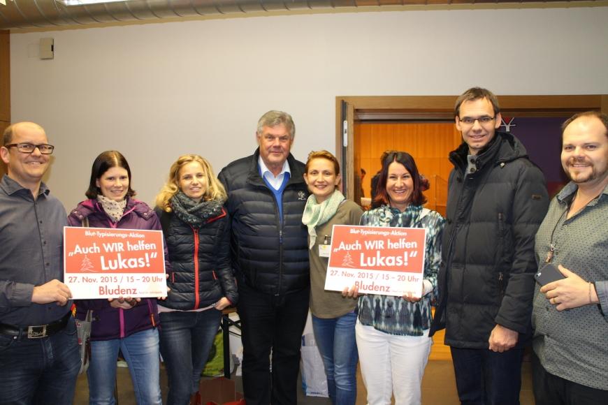 'Durch großartige Spendenaktion in Bludenz für Lukas 433 Menschen typisiert und über € 17.000 an Spenden'-Bild-5