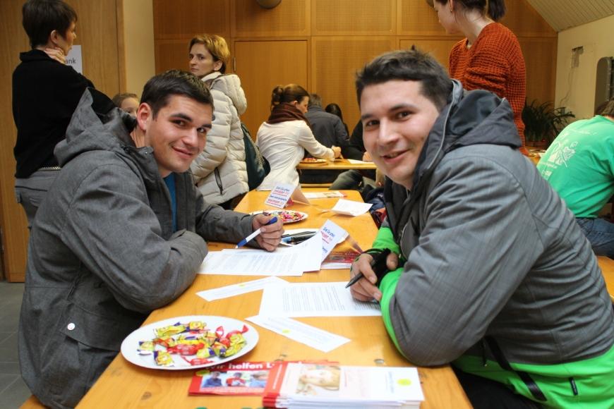 'Durch großartige Spendenaktion in Bludenz für Lukas 433 Menschen typisiert und über € 17.000 an Spenden'-Bild-18