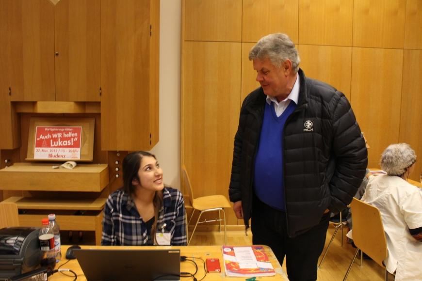 'Durch großartige Spendenaktion in Bludenz für Lukas 433 Menschen typisiert und über € 17.000 an Spenden'-Bild-28