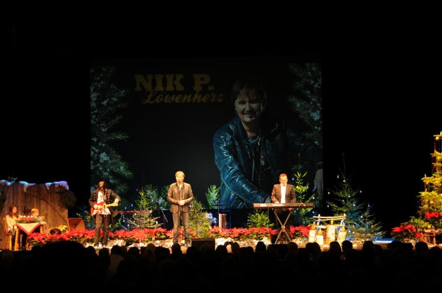'Günthers Weihnachtskonzert mit Nik P. im Kulturhaus Dornbirn spendet € 6.320,-'-Bild-1