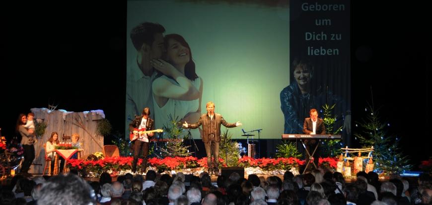 'Günthers Weihnachtskonzert mit Nik P. im Kulturhaus Dornbirn spendet € 6.320,-'-Bild-4