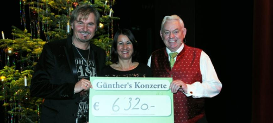 'Günthers Weihnachtskonzert mit Nik P. im Kulturhaus Dornbirn spendet € 6.320,-'-Bild-5