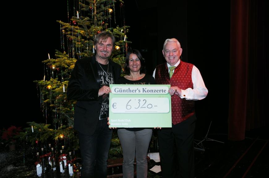 'Günthers Weihnachtskonzert mit Nik P. im Kulturhaus Dornbirn spendet € 6.320,-'-Bild-8