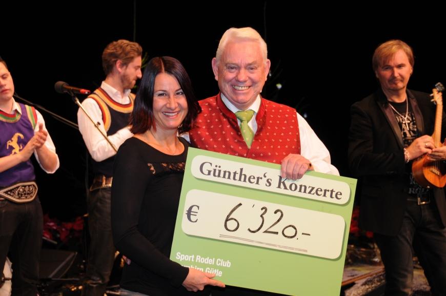 'Günthers Weihnachtskonzert mit Nik P. im Kulturhaus Dornbirn spendet € 6.320,-'-Bild-10