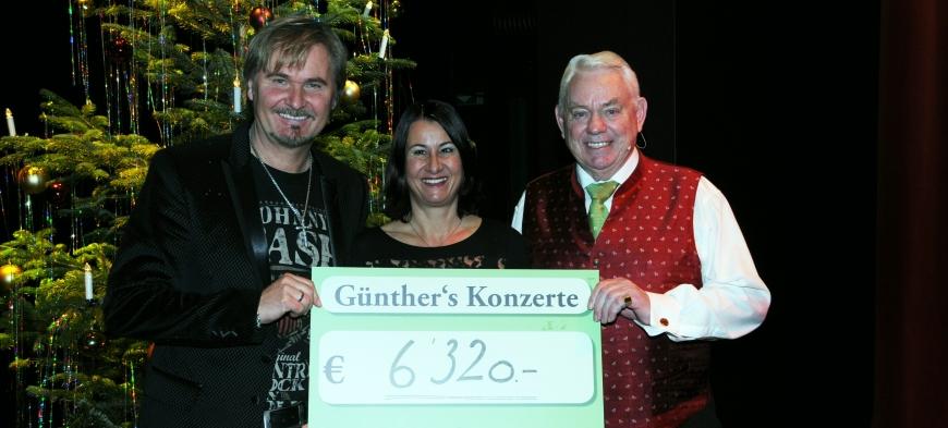 'Günthers Weihnachtskonzert mit Nik P. im Kulturhaus Dornbirn spendet € 6.320,-'-Bild-11