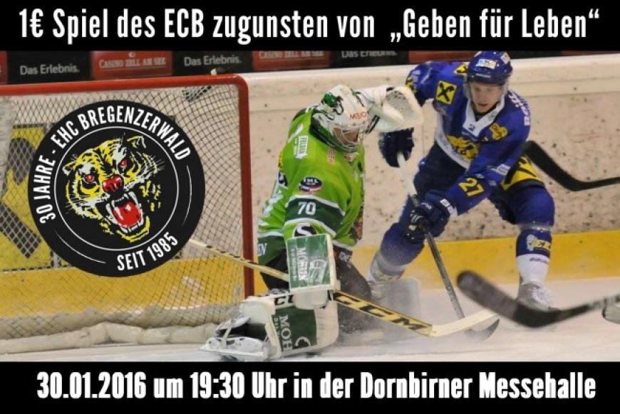 'EHC Bregenzerwald spendet € 2.500,- nach Benefizspiel gegen Laibach'-Bild-1