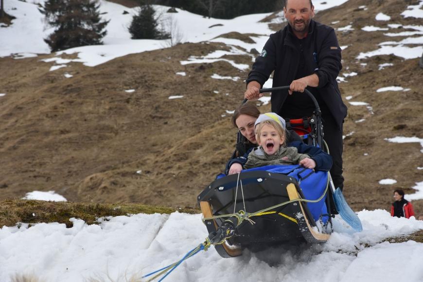 'Kindertraum mit Husky-Toni auf der Tschengla für schwerkranke Kinder'-Bild-4
