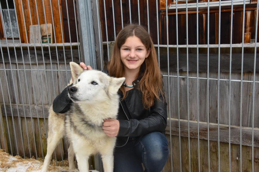 'Kindertraum mit Husky-Toni auf der Tschengla für schwerkranke Kinder'-Bild-13