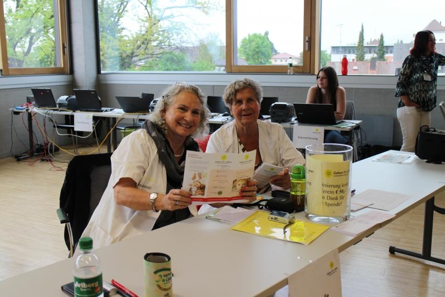 'Erfolgreiche Typisierung in Fachhochschule Vorarlberg mit prominenter Unterstützung'-Bild-2