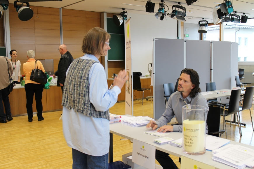 'Erfolgreiche Typisierung in Fachhochschule Vorarlberg mit prominenter Unterstützung'-Bild-3