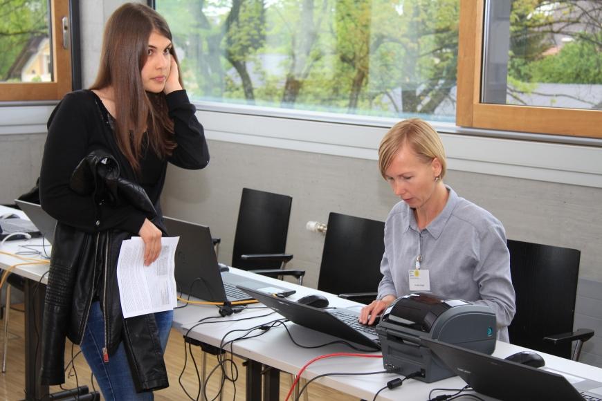 'Erfolgreiche Typisierung in Fachhochschule Vorarlberg mit prominenter Unterstützung'-Bild-12