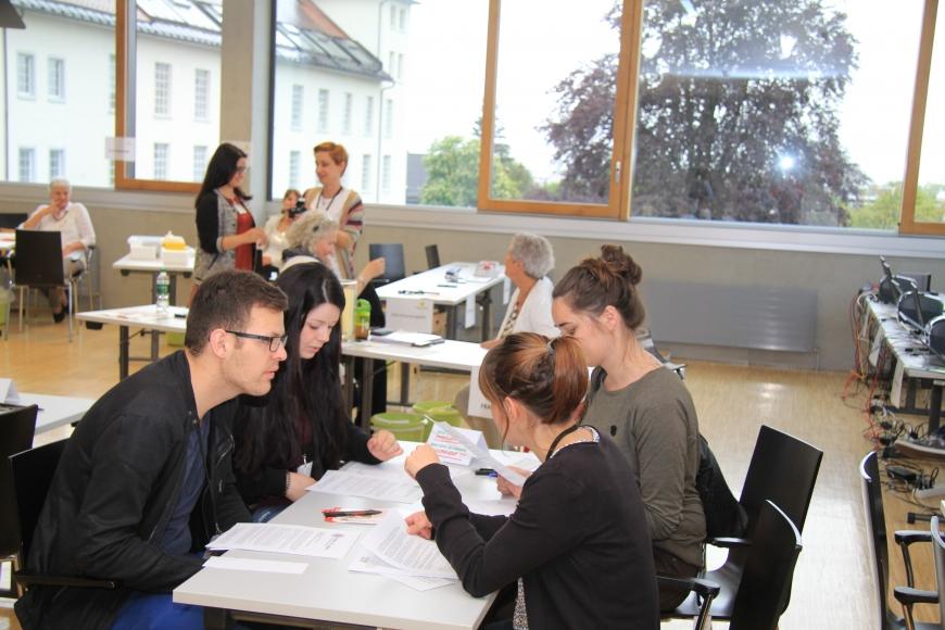 'Erfolgreiche Typisierung in Fachhochschule Vorarlberg mit prominenter Unterstützung'-Bild-15