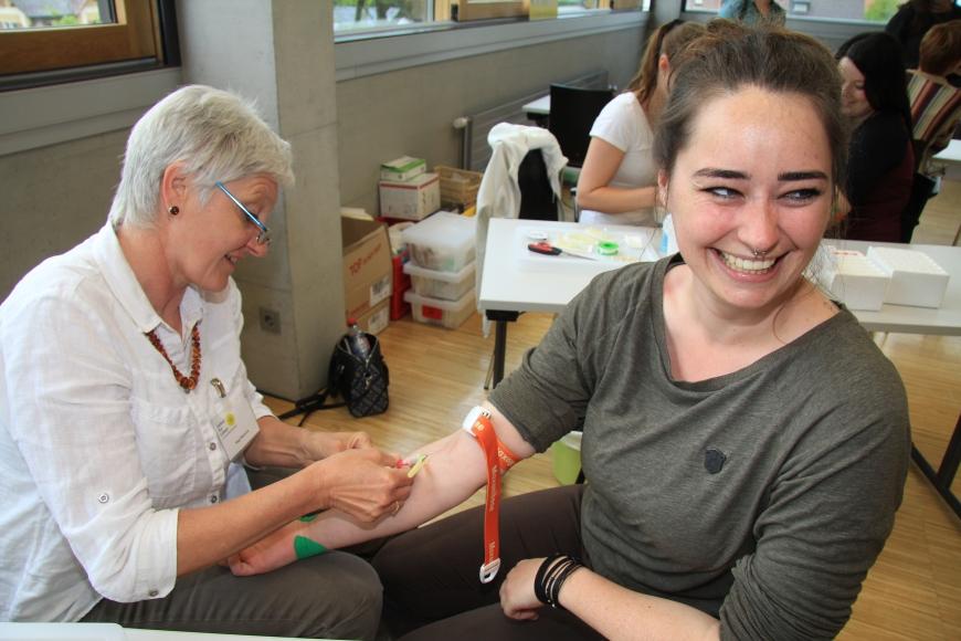 'Erfolgreiche Typisierung in Fachhochschule Vorarlberg mit prominenter Unterstützung'-Bild-20