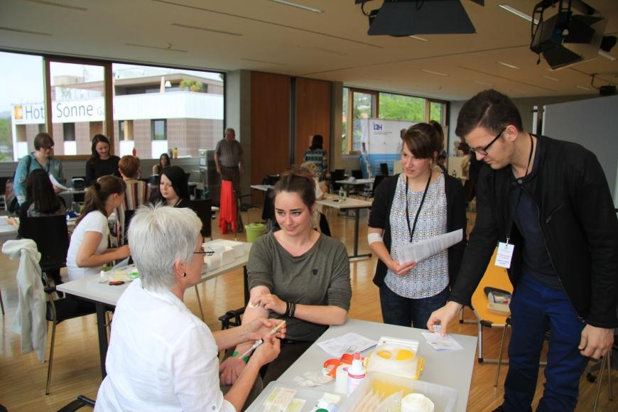 'Erfolgreiche Typisierung in Fachhochschule Vorarlberg mit prominenter Unterstützung'-Bild-22