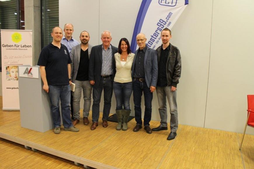 'Scheckübergabe FC Tosters 99 nach Toni Innauer-Lesung'-Bild-14