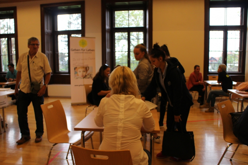 'Typisierungsaktion in Bregenz brachte 185 neue potentielle Lebensretter'-Bild-1