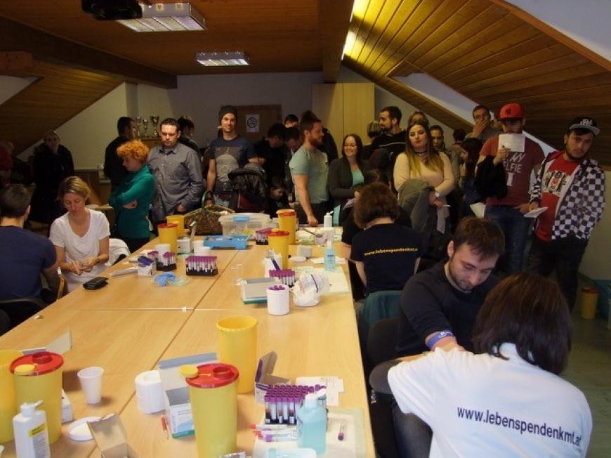 'Erste Typisierungsaktion in Niederösterreich war ein voller Erfolg'-Bild-7