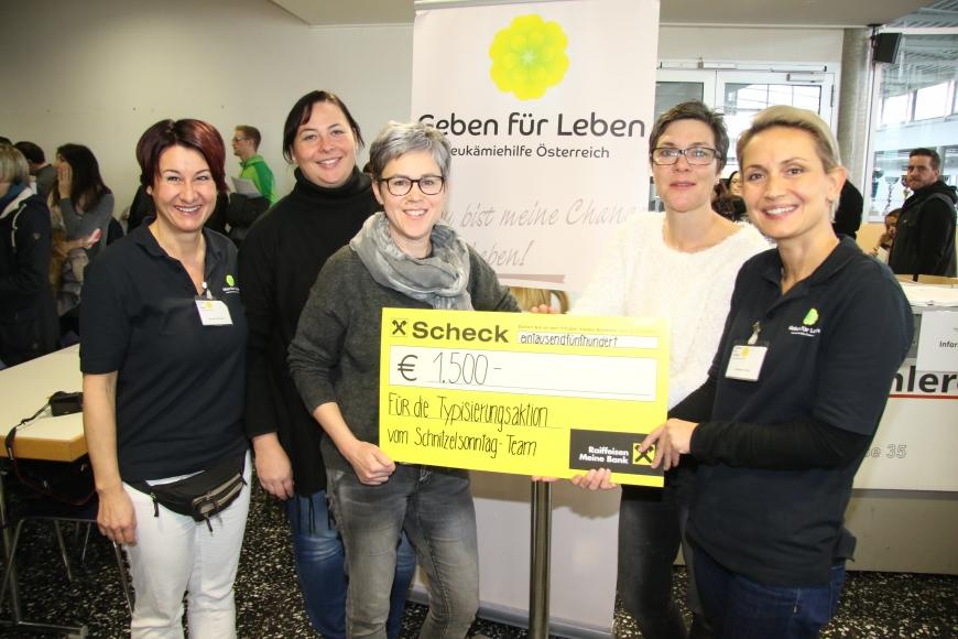 'Rekordsumme für Typisierungen in Lustenau gespendet'-Bild-2