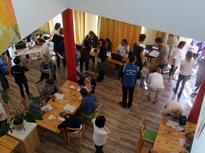 'Fantastische Aktion mit Promi-Beteiligung in Wels setzt die Latte für unsere Aktionen wieder hoch'-Bild-4
