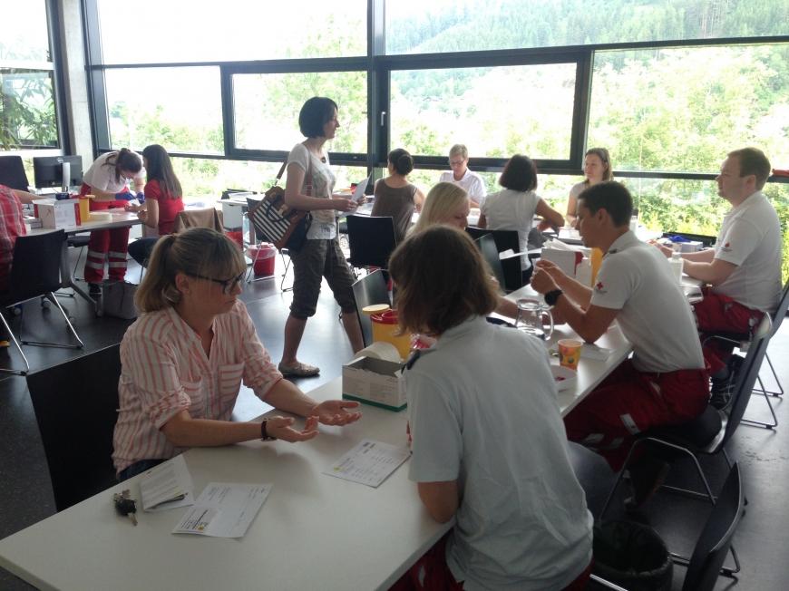 'Tolle Zusammenarbeit mit Rotem Kreuz und