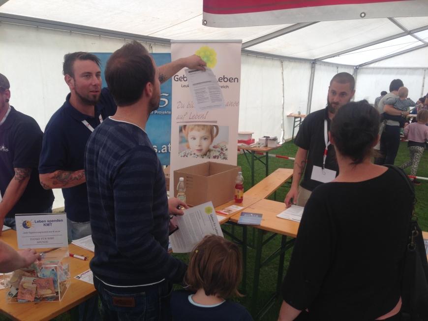 'Aktion in Niederösterreich bringt viele Typisierungen und € 7.786,04 an Spenden'-Bild-4