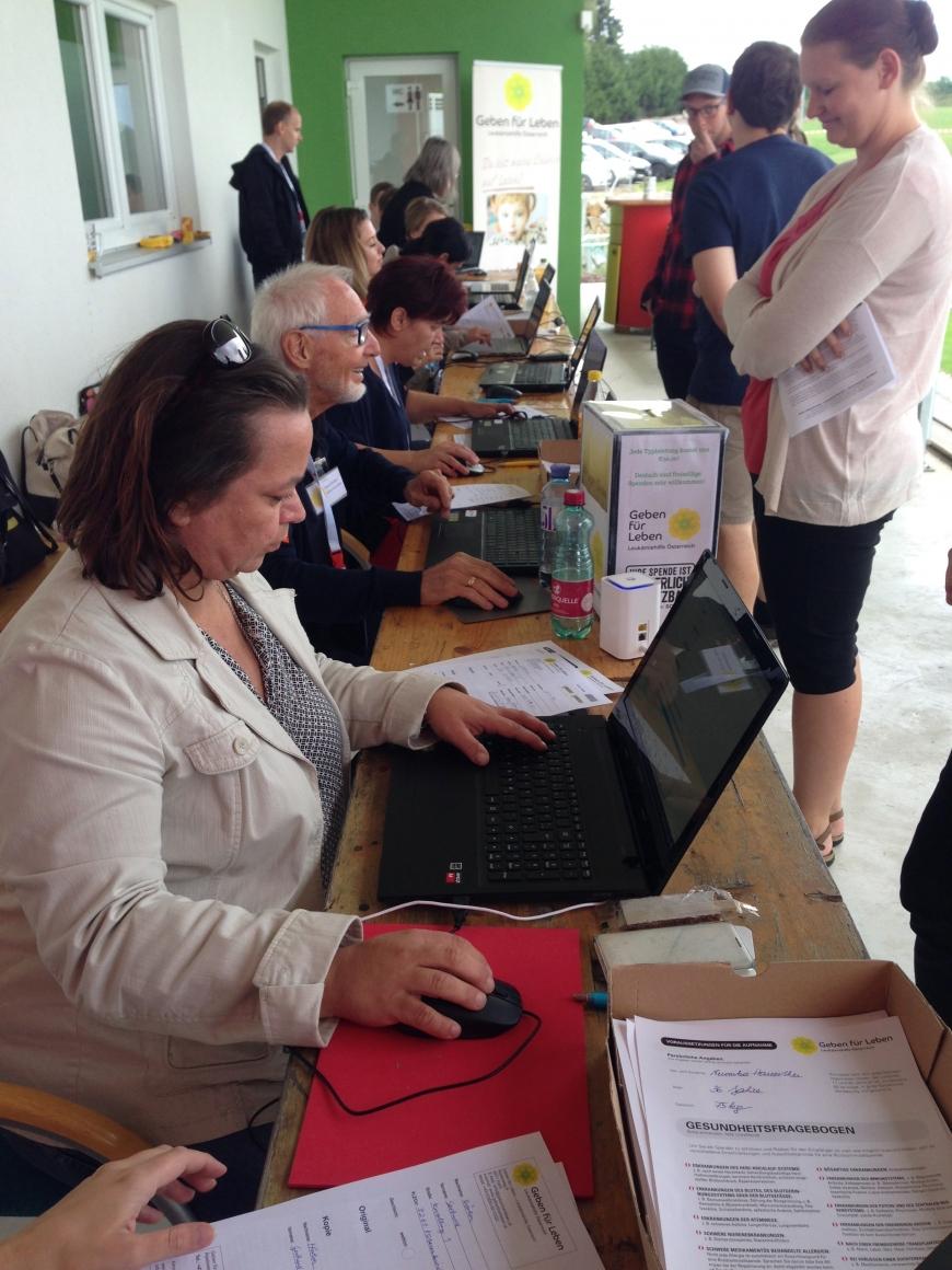 'Aktion in Niederösterreich bringt viele Typisierungen und € 7.786,04 an Spenden'-Bild-10