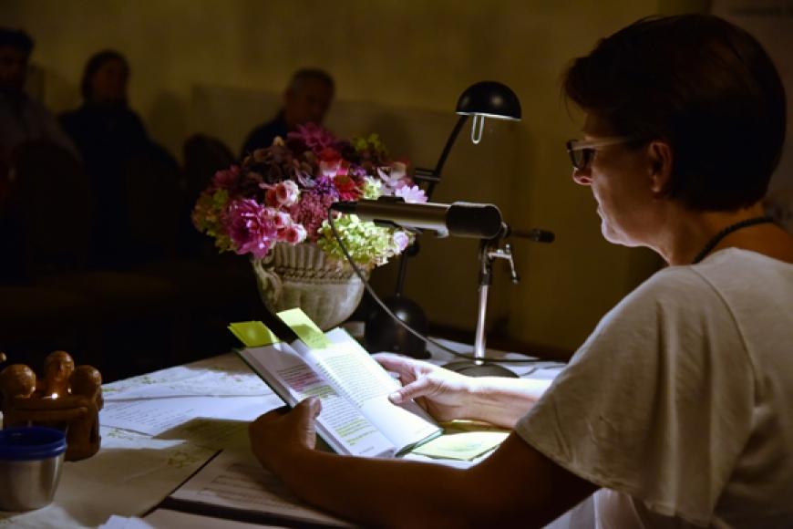 'Emotionale Lesung einer ehemals leukämiekranken Frau in Spittal an der Drau (Kärnten)'-Bild-32