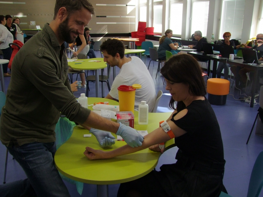 'Tolle Typisierungsaktion zusammen mit der Leukämiehilfe Steiermark'-Bild-4