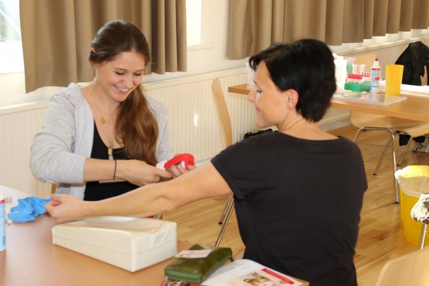 'Pflegedienst Hofsteig unterstützt unseren Verein tatkräftig'-Bild-4