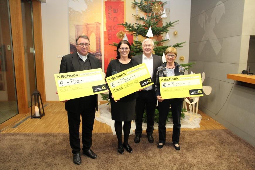 'Großzügige Spenden statt Weihnachtsgeschenke der Raiffeisenbank'-Bild-3