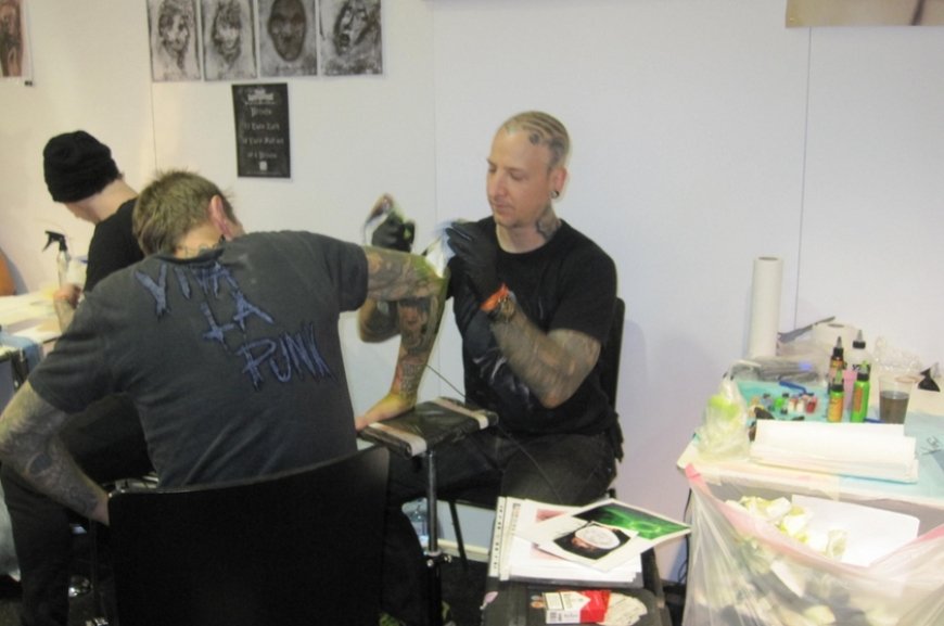 'Stechen für den guten Zweck - Typisierung auf der Tattoo-Convention'-Bild-43
