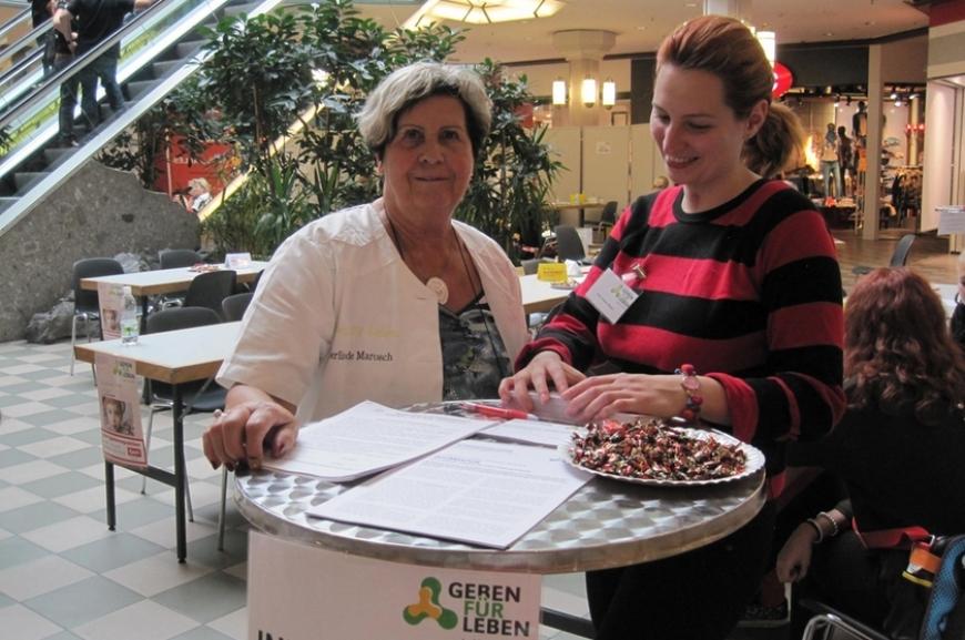 'Aktion im Messepark und eine neue Spenderin aus Vorarlberg!'-Bild-3