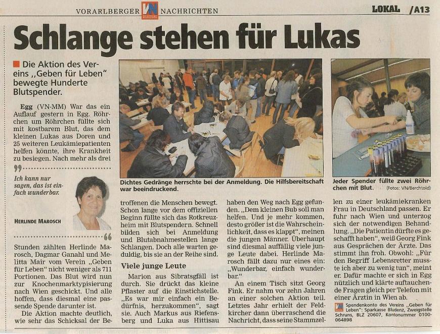 'Nach zehnjähriger Suche haben wir nun endlich einen Spender für Lukas aus Doren'-Bild-6
