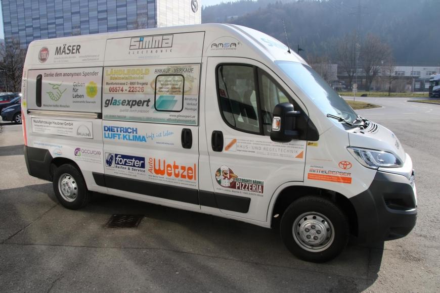 'Geben für Leben ist dank Sozialsponsoring nun mobil'-Bild-1