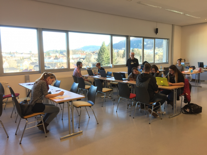 'Großartige Typisierungsaktion in der FH in Feldkirchen-Kärnten'-Bild-2
