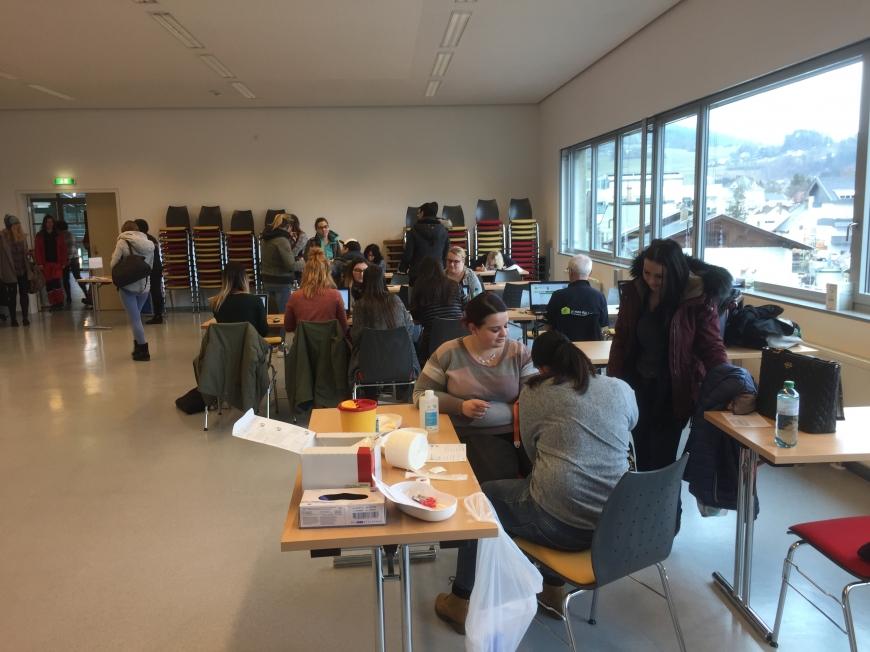 'Großartige Typisierungsaktion in der FH in Feldkirchen-Kärnten'-Bild-5