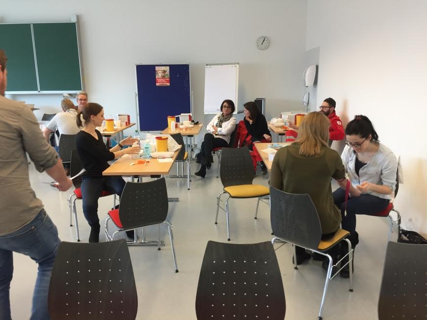 'Großartige Typisierungsaktion in der FH in Feldkirchen-Kärnten'-Bild-6