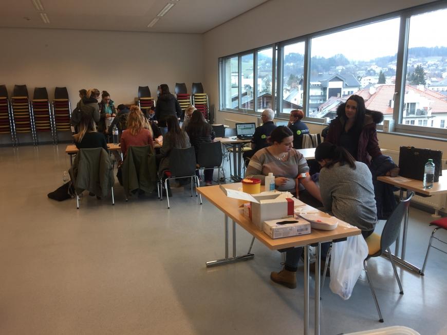 'Großartige Typisierungsaktion in der FH in Feldkirchen-Kärnten'-Bild-7