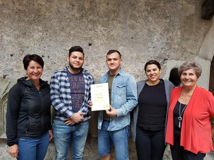 'Ahmet Yarar (19) aus Frastanz hat seine gesunden Stammzellen gespendet'-Bild-3