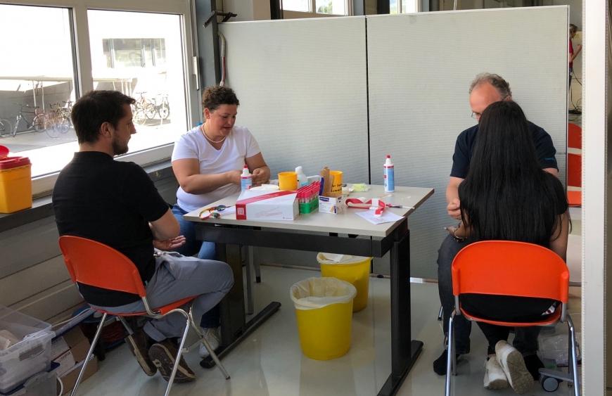 '150 Neutypisierungen und € 5.500 an Spenden bei Firmentypisierung thyssenkrupp Presta'-Bild-1