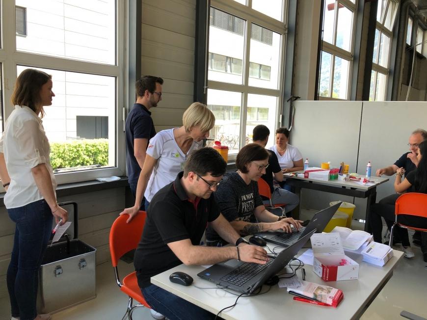 '150 Neutypisierungen und € 5.500 an Spenden bei Firmentypisierung thyssenkrupp Presta'-Bild-5