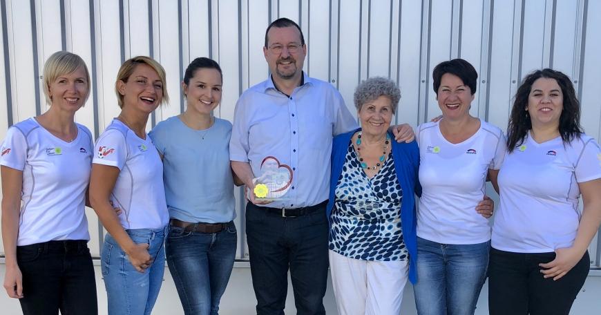 'Burkhard Dünser und sein Team vom Messepark Dornbirn erhalten den Award der Dankbarkeit'-Bild-1