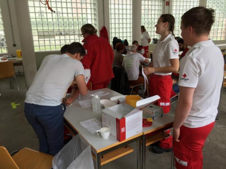 'Typisierungsaktion mit dem Roten Kreuz'-Bild-7