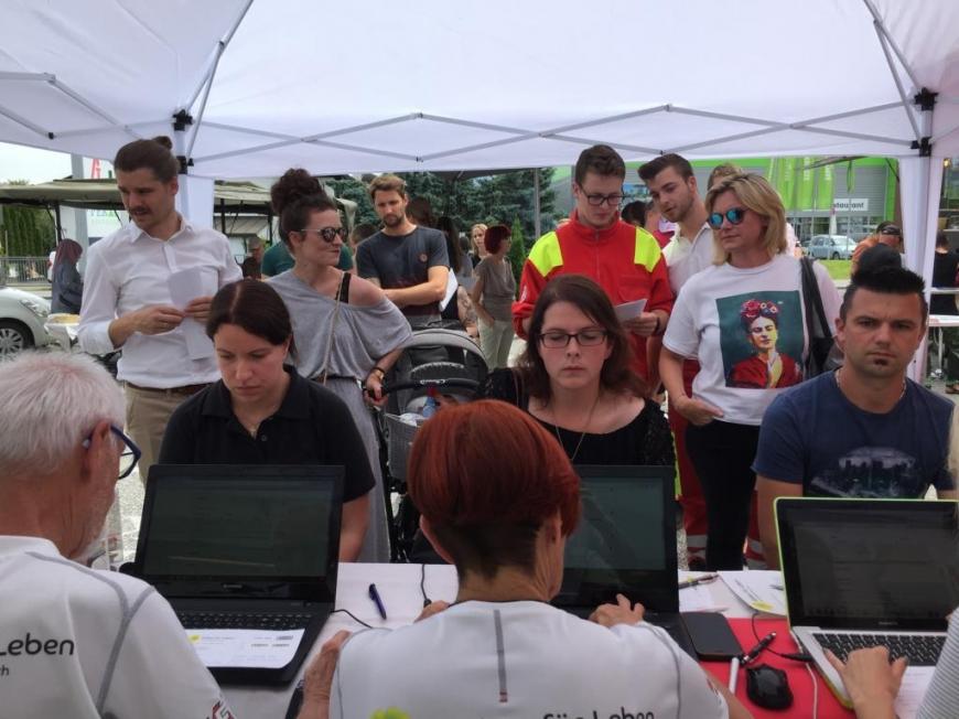 'Großartige Typisierungsaktion und enorme Hilfsbereitschaft in Kärnten'-Bild-12