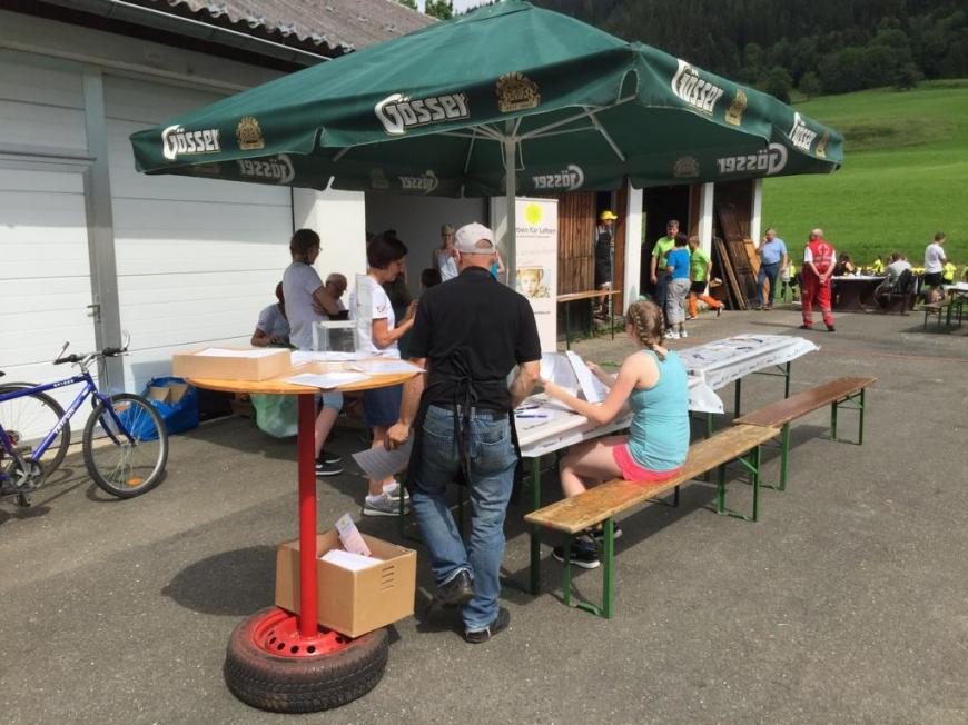 'Typisierungsaktion beim Fußballturnier in der Steiermark'-Bild-1