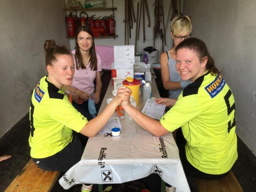 'Typisierungsaktion beim Fußballturnier in der Steiermark'-Bild-6