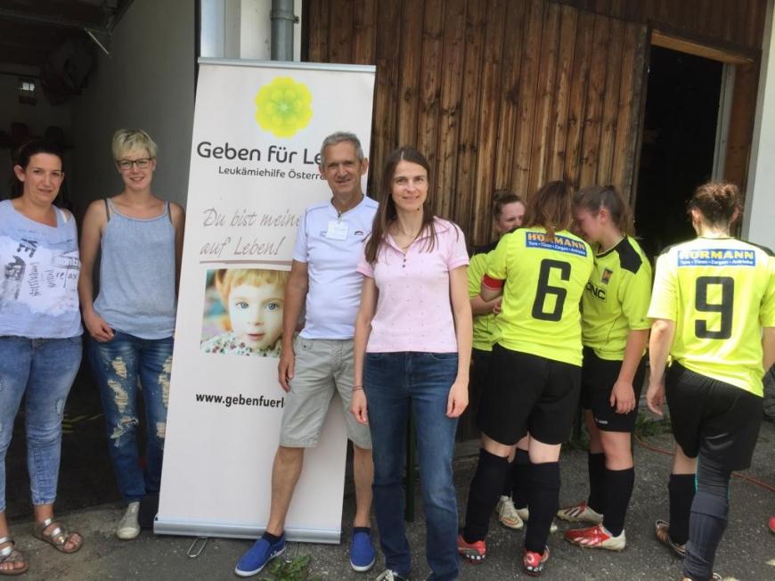 'Typisierungsaktion beim Fußballturnier in der Steiermark'-Bild-8